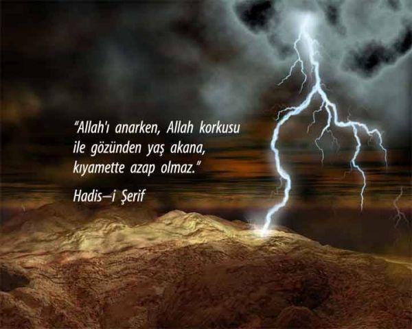 Allah korkusunun göstergeleri ...